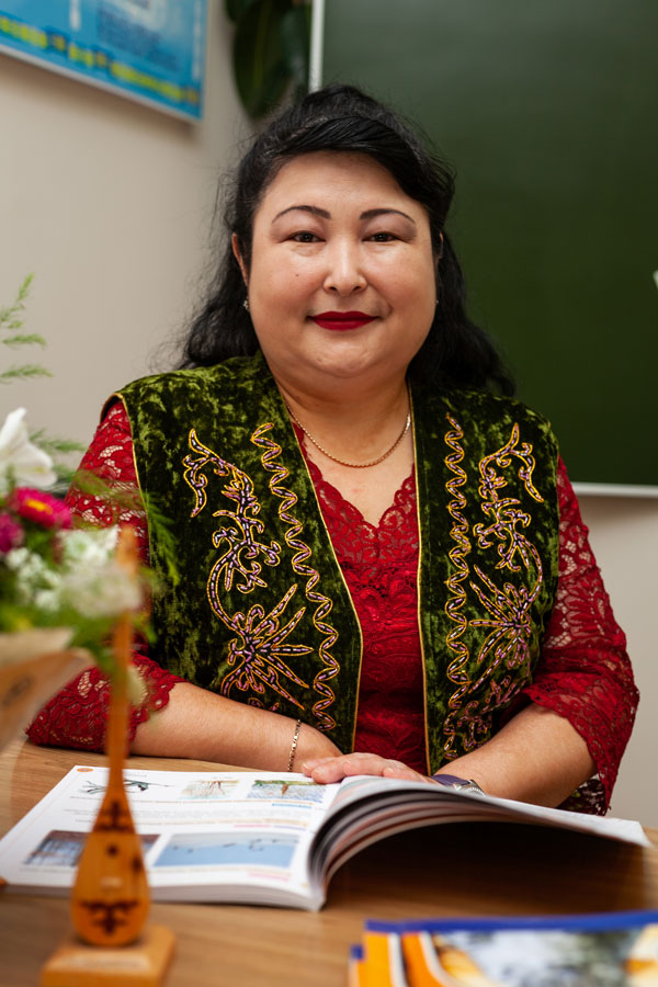 Амирова Сауле Батановна - Учитель казахского языка