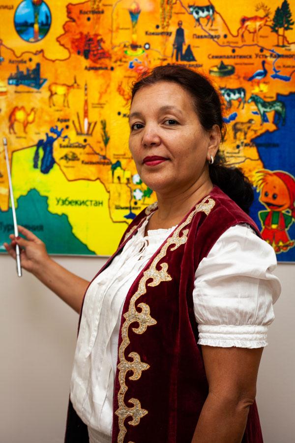 Белалова Жанат Жакаевна - Учитель казахского языка.