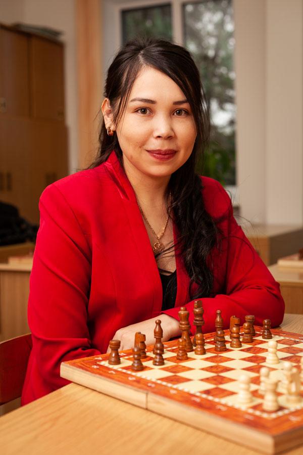 Кыпшакбаева Акерке Алмаскызы - Учитель по шахматам.